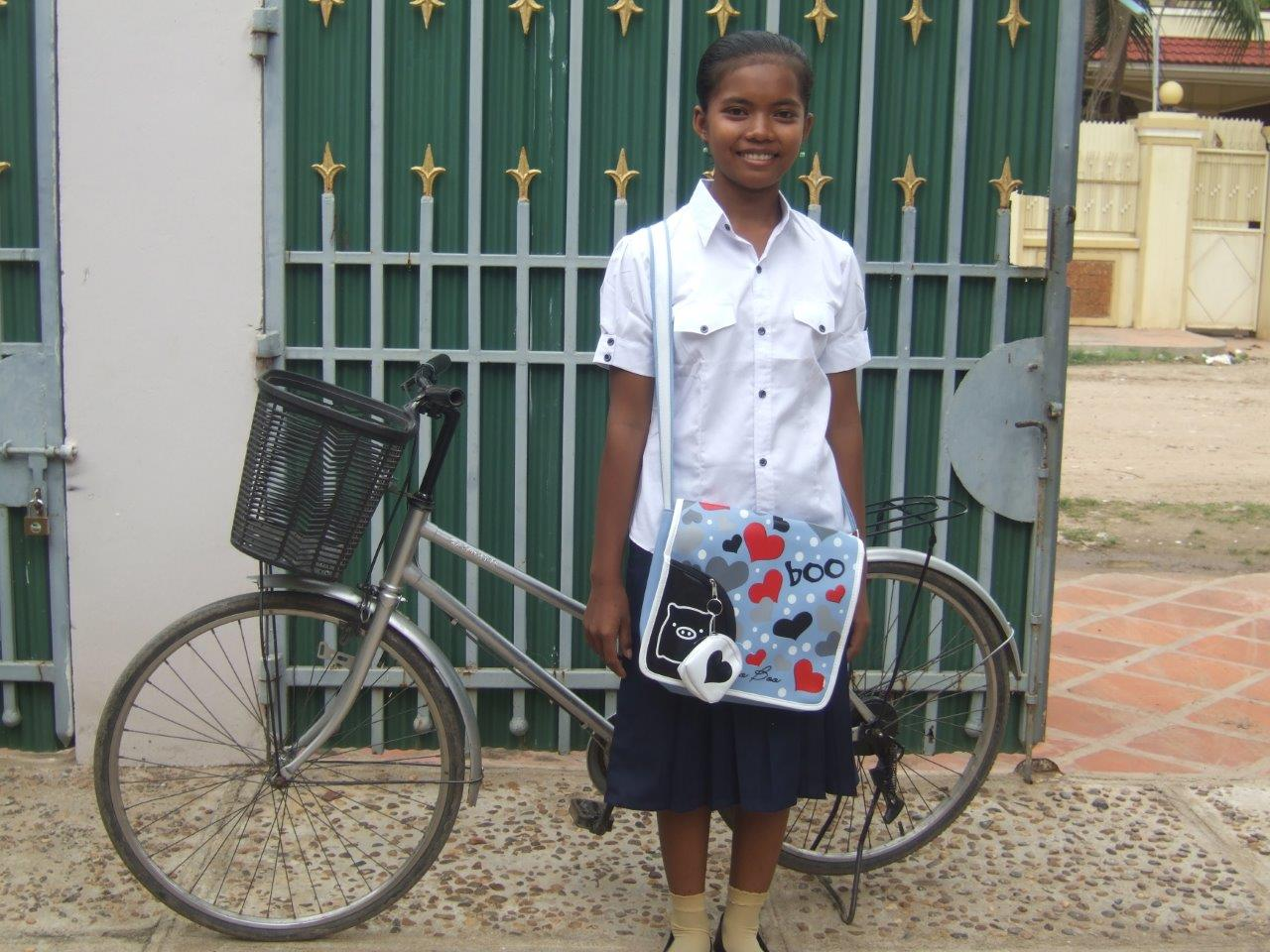 Vitcheka, our first sponsored student 9 years ago