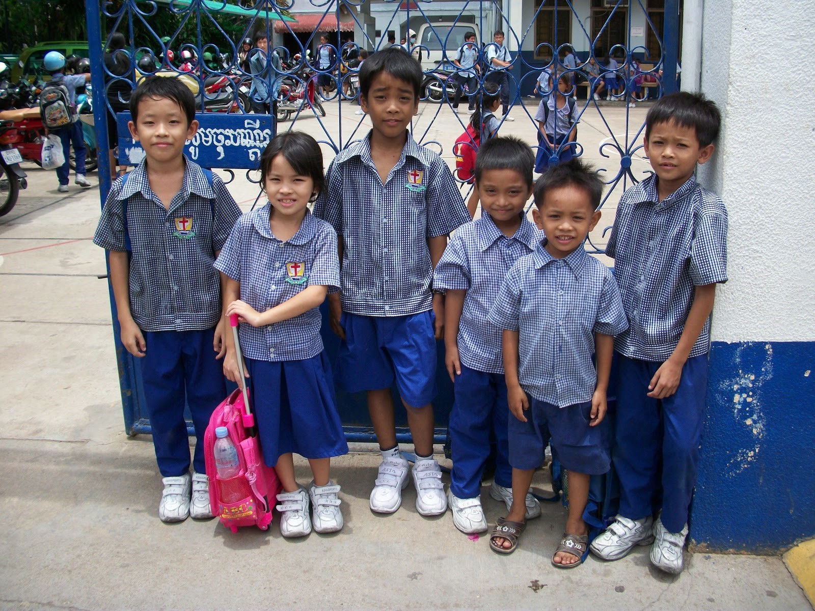 Sponsored students attend Christian schools in the city for a better education